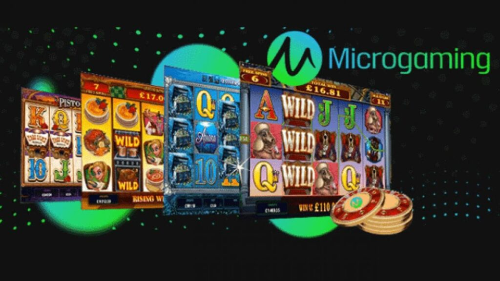 Microgaming different games
