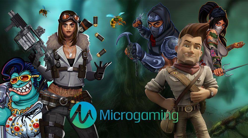 Microgaming history