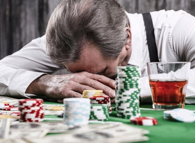 Problems with gambling